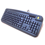 Smart Card Keyboard - USB - Black UK & US