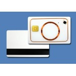 Smart Card with EMarine 4102 with Magstripe reverse